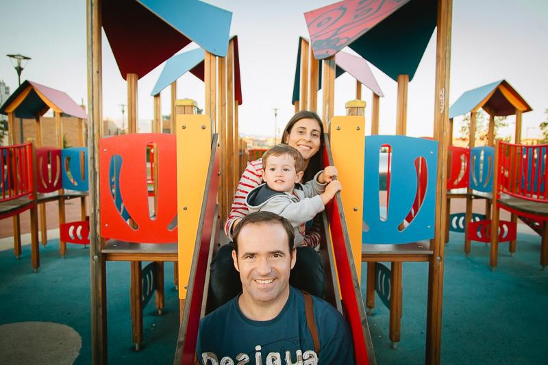 fotografía familiar Vitoria-Gasteiz reportaje familiar parque fotografo