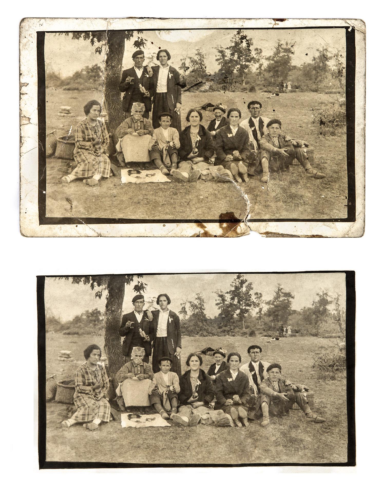 Fotografia restaurada