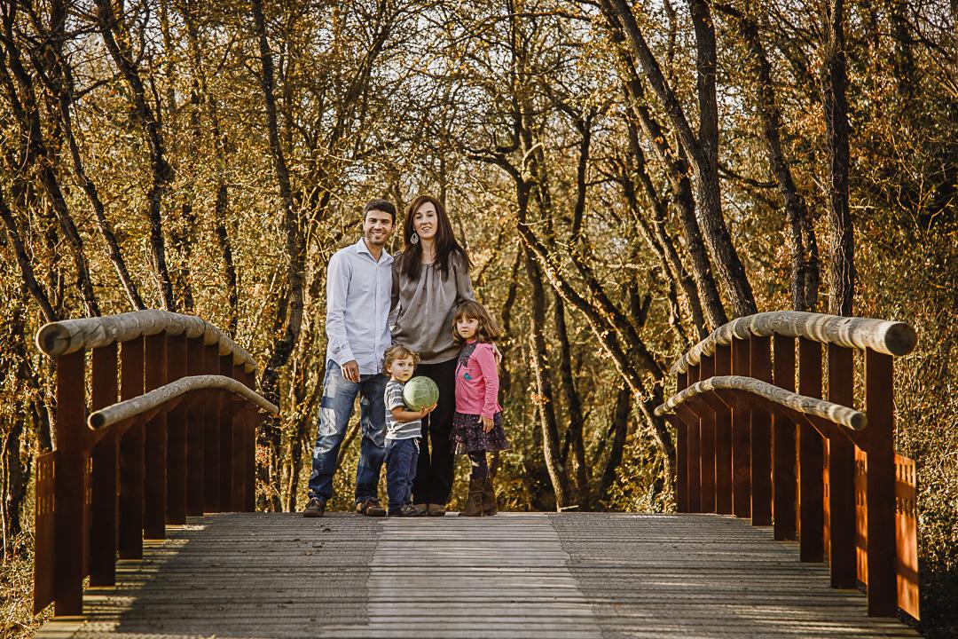 reportaje familiar en Vitoria-Gasteiz Anillo Verde Agurain Amurrio