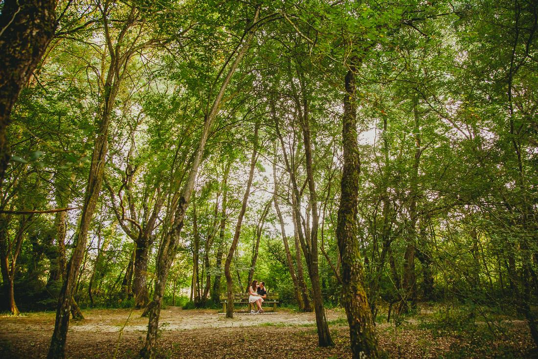 Preboda en el parque Vitoria-Gasteiz